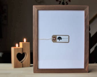 10x12 Walnut - 10 x 12 Wooden Picture Frames - Wooden Picture Frame