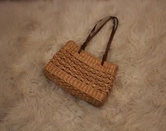 Vintage tiki style purse