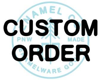 Wholesale Enamel Mug Sample - For Brick & Mortar Retailers