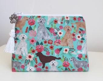 Goldendoodles Gift Card Pouch Makeup Bag