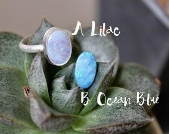Choice of Australian Opal Ring