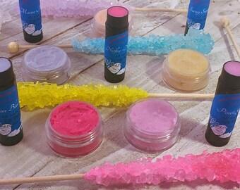 Lip Balm & Lip Scrub Duo. Twenty Fun and Funky Flavors to choose from!