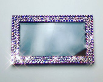 Rhinestone Z Pallette for Eyeshadow/Makeup Storage and Organization