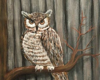 Howl the owl
