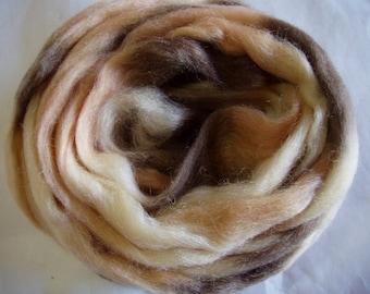 3.5oz, wool roving, roving wool, spinning fiber, needle felting wool, wet felting wool, dreads, hairfalls, dread wool,100g, 100% wool
