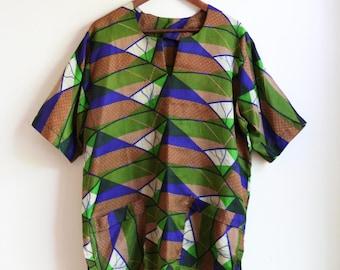 Short Sleeve Tunic - L