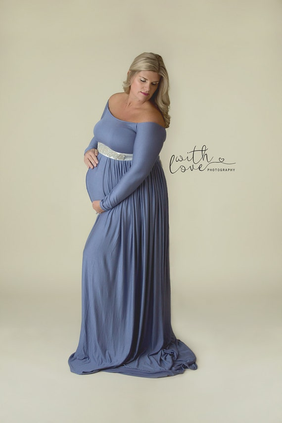 Maternity Gown Maternity Photoshoot Dress Plus Size