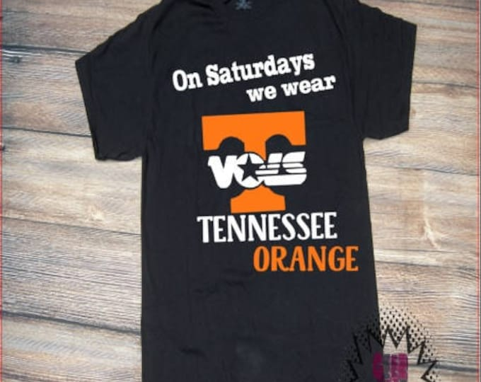 Tennessee Vols Tshirt Football TN Volunteers SEC Youth Kid Child Unisex Cotton Team spirit t-shirt vinyl