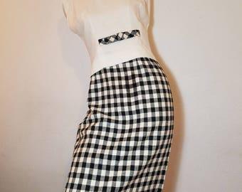 FREE  SHIPPING   1950  Two piece Dress