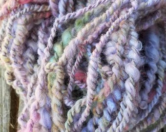 32 Yards of my English garden spun and plyed with itself