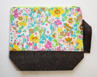 Spring Floral Medium Project Bag