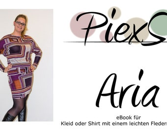 Sewing Pattern/Schnittmuster Kleid/Shirt Aria
