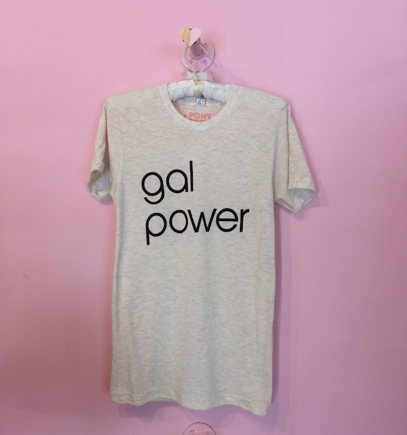 Gal Power unisex crew neck tee