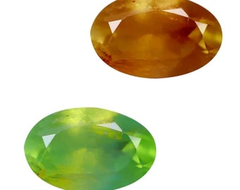 0.38 Cts Unbeatable! GIL Certified Natural Color Change Green To Red Alexandrite From India