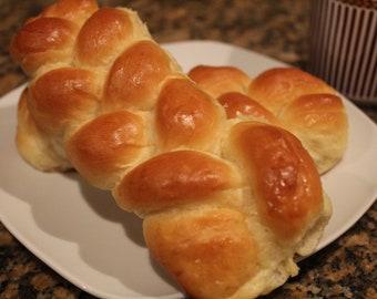 Organic Artisan Braided Bread,Baked Good,