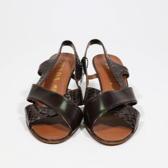 PRADA Leather PRADA sandals PRADA sandals Leather Leather sandals PRADA Za5gxpqw1