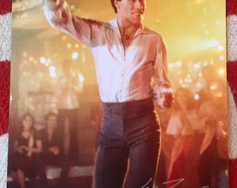 Saturday Night Fever Authentic 8 x 10 John Travolta Signed Photo Autograph with COA, Disco