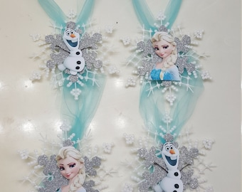 Frozen Candy Jar Tags