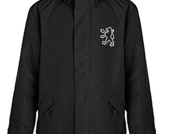 Peugeot Quilted Polyester Wind and Water Resistant Winter Jacket