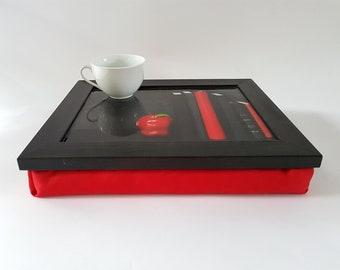 LapDesk, LapTray, LapPad, Laptop Table, Portable Desk, Pillow Desk, TV Tray, Cushion Tray