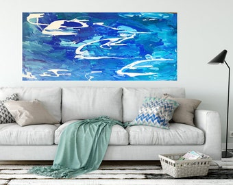 Large Beach Style Painting