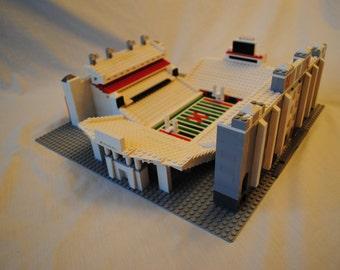 Nebraska Memorial Stadium, Brick model