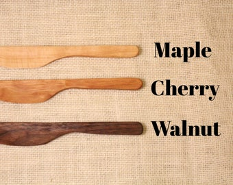 Handcrafted Wooden Butter Knife