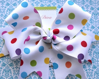 Party Dots XL Diva Bow