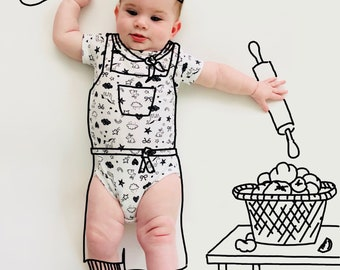 Monthly Baby Doodles. Doodles. Drawings. Monthly. Baby. Sketches. Designs. Black and White