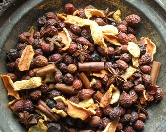 Orange & Cloves Fixins~ Primitive bowl fillers with refresher oil
