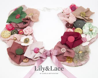 My lovely embroidered collar