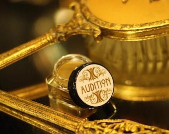 Solid perfume, AUDITION, Chocolate, coffee, Tobacco, Antique Patchouli, Clary Sage Cedar essential oils Cream perfume