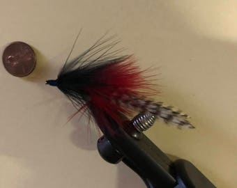 Red and Black Pike Fly