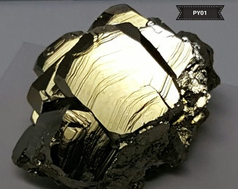 Peruvian Pyrite Crystal Cluster #PY01