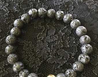 Black Elastic bracelet