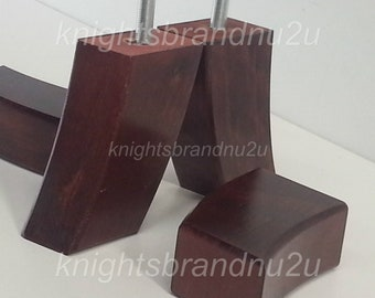 4x Wooden Replacement Furniture Legs Feet For Sofas Settees Chairs Footstools M8