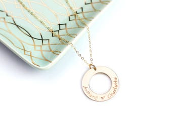 Name Necklace, Personalized Necklace, Custom Gold Jewelry, Gold Name Necklace, Personalized Necklace for Mom, Couples Necklace, Jewelry