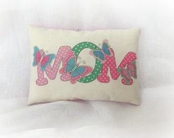 Mother's Day Pillow - Butterfly Mom