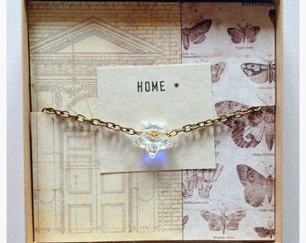 Home * - Swarovski Crystal Star Charm Necklace