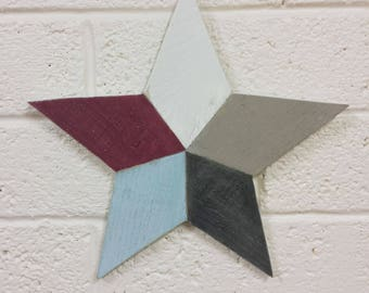 Large Rustic Wooden Star. Recycled wood. Perfect gift for Mothers Day