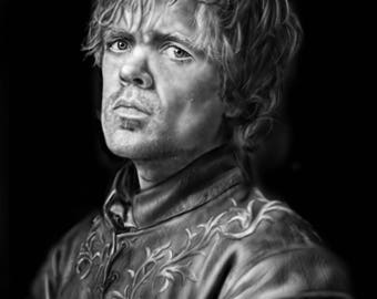Tyrion Lannister Game of Thrones Art Print