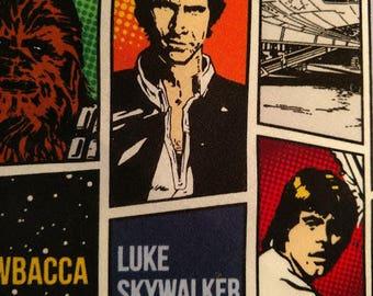 Star Wars, Luke Skywalker, Han Solo, Princess Laia, Chewbacca Fabric