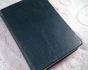 Vintage Taber's Cyclopedic Medical Dictionary 1943 Antique Medical Book