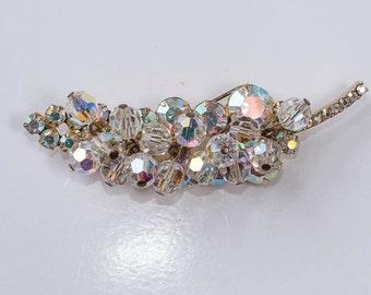 Juliana Brooch,  Rhinestones and Crystals, Vintage Crystal Pin
