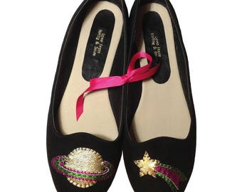Space Customised Ballet Shoes