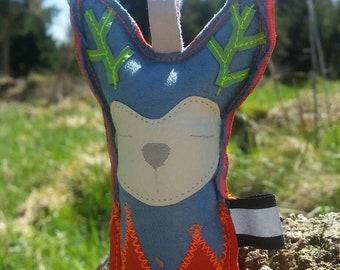Dog Toys-Handmade-Pet toys-dummy-dummy-hunting-dog-key fob-Made in Blackwood forest-wild Deer