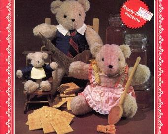 I Love Teddy stuffed toy pattern book by Judi Bates (sewing)