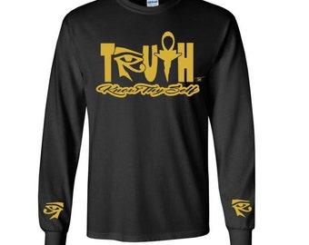 African Clothing // Ankh Shirt {3rd Eye Truth} Egyptian Clothing // Kemetic // Eye of Horus // Eye of Ra // Eye of Heru // Know Thyself zw1alkNJ