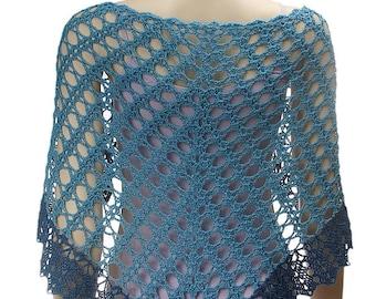 Crochet Angelika Lace Shawl pattern pdf download