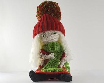 Crochet Doll Pattern Amigurumi Doll Pattern Christine Pdf
